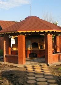 Поэтапное строительство уличных печных комплексов